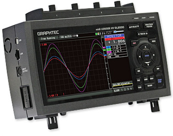 Graphtec GL2000 Data Logger/Scope