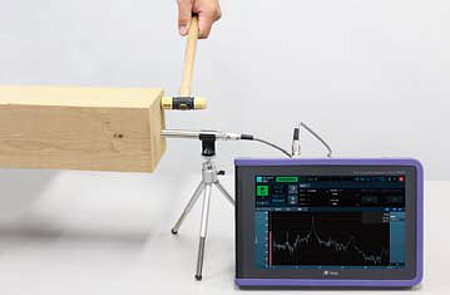 Measure Modulus of Wood with Rionote